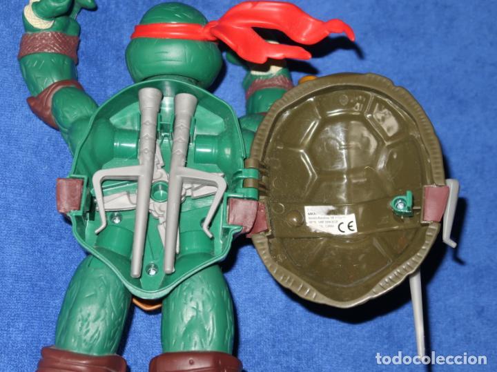Figuras y Muñecos Tortugas Ninja: Raphael - Tortuga Ninja - Viacom International Inc (2012) - Foto 3 - 287961888