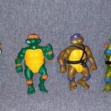 Figuras y Muñecos Tortugas Ninja: LOTE TORTUGAS NINJA MIRAGE STUDIOS PLAYMATE TOYS 1988. Lote 287973483