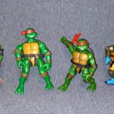 Figuras y Muñecos Tortugas Ninja: LOTE TORTUGAS NINJA MIRAGE STUDIOS PLAYMATE TOYS 2002/3/5. Lote 287973578