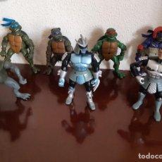 Figuras y Muñecos Tortugas Ninja: LOTE DE 7 FIGURAS DE LAS TORTUGAS NINJA - PLAYMATES 2003. Lote 288439053
