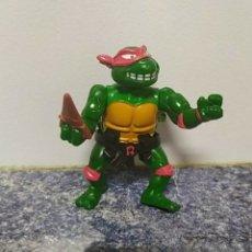 Figuras y Muñecos Tortugas Ninja: RAPHAEL TORTUGAS NINJA VINTAGE 11CM CINTURÓN Y ARMA ORIGINAL. Lote 289779763