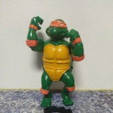 Figuras y Muñecos Tortugas Ninja: MICHELANGELO TORTUGAS NINJA VINTAGE 11CM CINTURÓN ORIGINAL. Lote 289779983