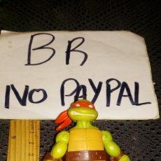 Figuras y Muñecos Tortugas Ninja: FIGURA MUÑECO TORTUGA NINJA ARTICULADA VÍACON SE ENVÍA LO Q SE VE EN LA FOTO. Lote 290135343