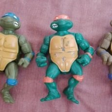 Figuras y Muñecos Tortugas Ninja: LOTE - TORTUGAS NINJA - 1988 - MIRAGE STUDIOS - PLAYMATES TOYS. Lote 292604593