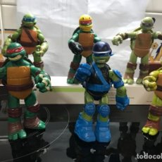 Figuras y Muñecos Tortugas Ninja: 6 TORTUGAS NINJAS 12 CENTIMETROS ARTICULADAS. Lote 293711988