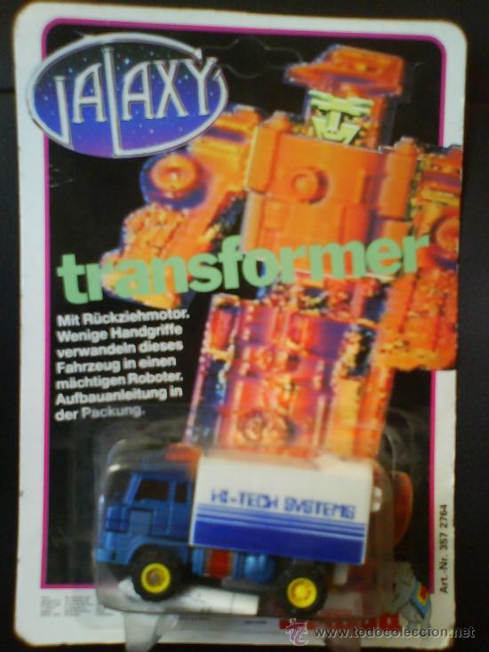 GALAXY TRANSFORMER, CAMION, FIGRA NUEVA Y SIN ABRIR DE LOS 80 (Juguetes - Figuras de Acción - Transformers)