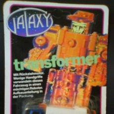 Figuras y Muñecos Transformers: GALAXY TRANSFORMER, CAMION, FIGRA NUEVA Y SIN ABRIR DE LOS 80. Lote 27334460