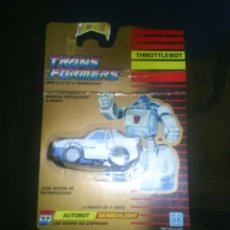 Figuras y Muñecos Transformers: TRANSFORMERS AUTOBOT THROTTLEBOT SEARCHLIGHT RARO!!!!!!! UNA JOYA!!!!!!. Lote 134038469