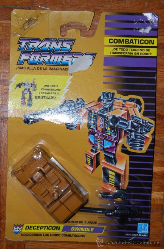 TRANSFORMERS COMBATICON DECEPTICOM SWINDLE (Juguetes - Figuras de Acción - Transformers)