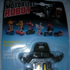 Figuras y Muñecos Transformers: ANTIGUO TRANSFORMER ROBOT MOTORIZADO. Lote 24255677