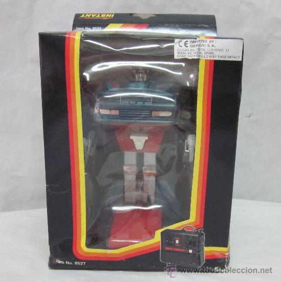 Figuras y Muñecos Transformers: ROBOT AUTO-CHANGE,TRANSFORMERS,A PILAS,CAJA ORIGINAL,AÑO 1985,A ESTRENAR - Foto 2 - 225831133