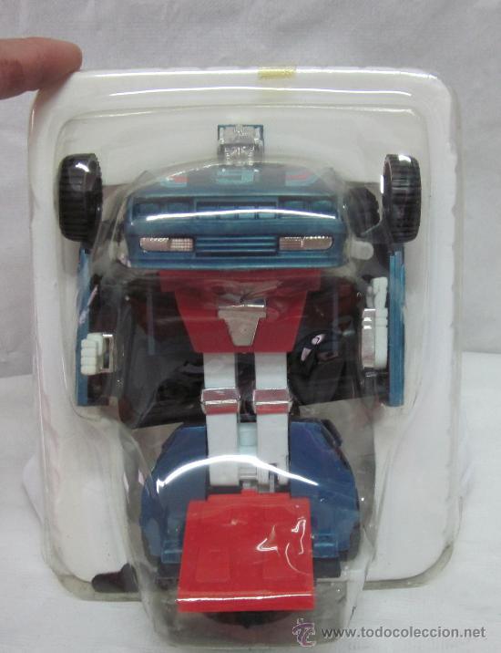 Figuras y Muñecos Transformers: ROBOT AUTO-CHANGE,TRANSFORMERS,A PILAS,CAJA ORIGINAL,AÑO 1985,A ESTRENAR - Foto 3 - 225831133