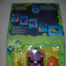 Figuras y Muñecos Transformers: ANTIGUO BLISTER TRANSFORMER RATA SPLINTER TRASNFORMABLE EN AUTOBUS NUEVO. Lote 26907046
