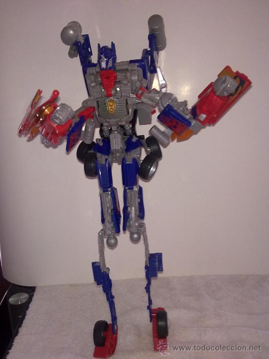 .TRANSFORMERS.OPTIMUS PRIME.ROBOT GIGANTE.CON VOZ ORIGINAL..AÑOS 80 (Juguetes - Figuras de Acción - Transformers)