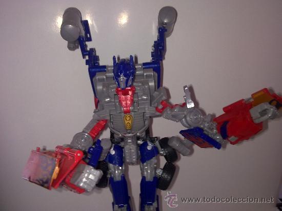 Figuras y Muñecos Transformers: .TRANSFORMERS.OPTIMUS PRIME.ROBOT GIGANTE.CON VOZ ORIGINAL..AÑOS 80 - Foto 2 - 27235292
