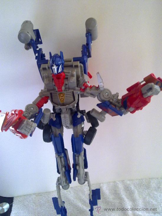 Figuras y Muñecos Transformers: .TRANSFORMERS.OPTIMUS PRIME.ROBOT GIGANTE.CON VOZ ORIGINAL..AÑOS 80 - Foto 3 - 27235292