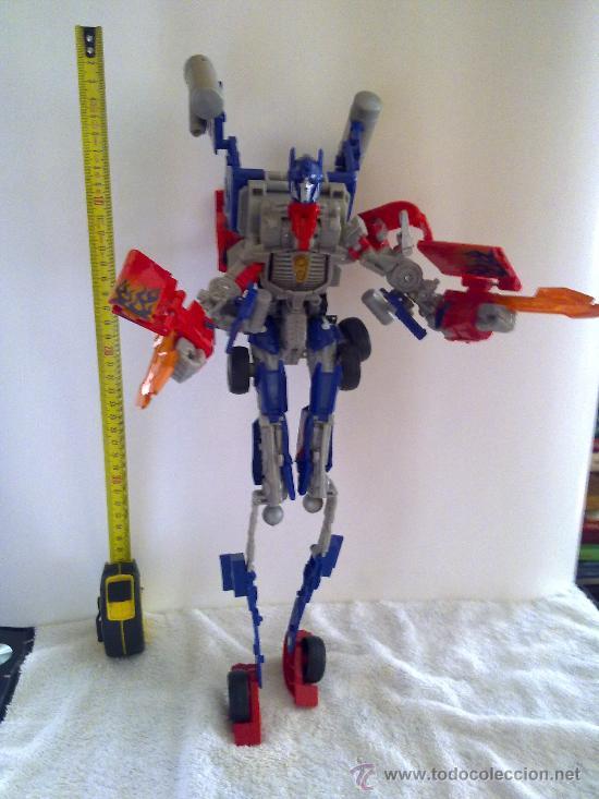 Figuras y Muñecos Transformers: .TRANSFORMERS.OPTIMUS PRIME.ROBOT GIGANTE.CON VOZ ORIGINAL..AÑOS 80 - Foto 5 - 27235292