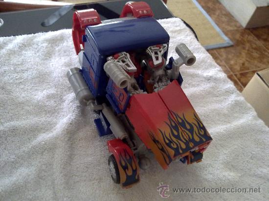 Figuras y Muñecos Transformers: .TRANSFORMERS.OPTIMUS PRIME.ROBOT GIGANTE.CON VOZ ORIGINAL..AÑOS 80 - Foto 6 - 27235292