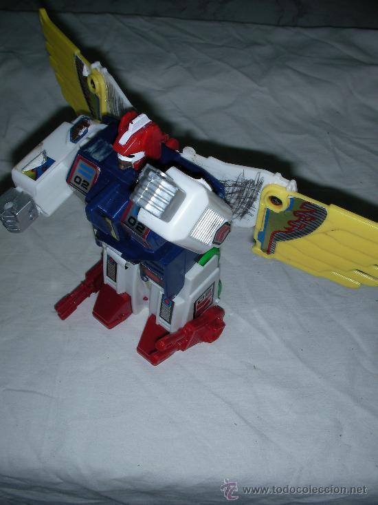 ANTIGUA FIGURA TRANSFORMERS CON ALAS (Juguetes - Figuras de Acción - Transformers)