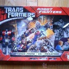 Figuras y Muñecos Transformers: CAJA TRANSFORMERS - ROBOT FIGHTERS OPTIMUS PRIME VS. MEGATRON - HASBRO 2007 - SUPER OFERTA!. Lote 42088823