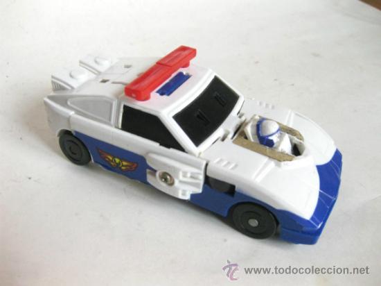 COCHE DE POLICIA TRANSFORMERS - MADE IN TAIWAN - MARCA P (Juguetes - Figuras de Acción - Transformers)