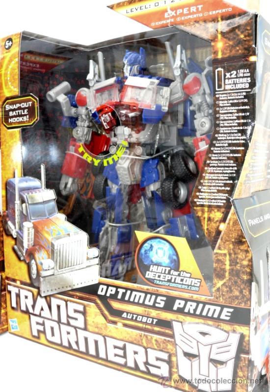 IMPOSIBLE! TRANSFORMERS HASBRO LEADER OPTIMUS PRIME. EXPERT!! AUTOBOT DECEPTICON INCREIBLE (Juguetes - Figuras de Acción - Transformers)