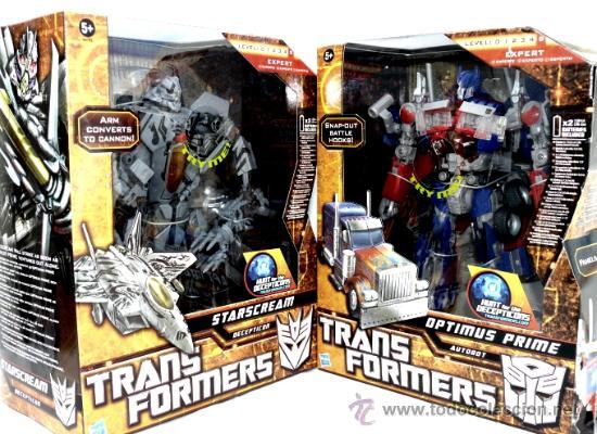 Figuras y Muñecos Transformers: TRANSFORMERS OPTIMUS PRIME Y STARSCREAM - Foto 2 - 45982692