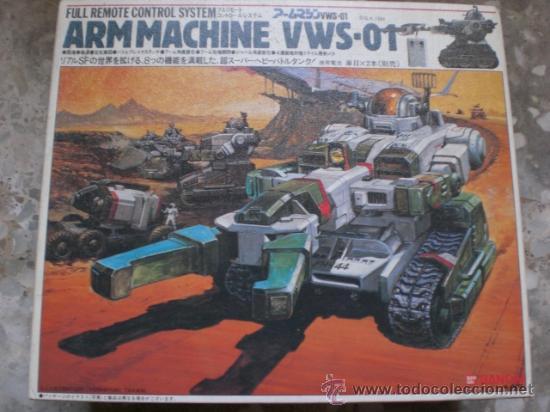 ROBOT TRANSFORMES ARM MACHINE DE BANDAI. A ESTRENAR. PRINCIPIOS DE LOS 80. MADE IN JAPAN (Juguetes - Figuras de Acción - Transformers)