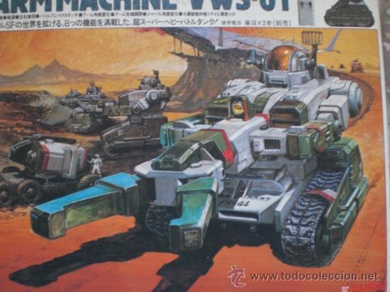 Figuras y Muñecos Transformers: ROBOT TRANSFORMES ARM MACHINE DE BANDAI. A ESTRENAR. PRINCIPIOS DE LOS 80. MADE IN JAPAN - Foto 2 - 32477763