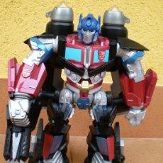 Figuras y Muñecos Transformers: FIGURA TRANSFORMERS OPTIMUS PRIME, CON LUCES Y SONIDO. Lote 58293882