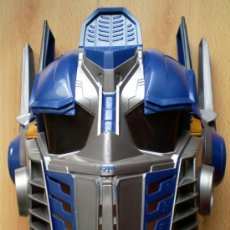 Figuras y Muñecos Transformers: MÁSCARA TRANSFORMERS OPTIMUS PRIME,HASBRO 2006. Lote 34959321