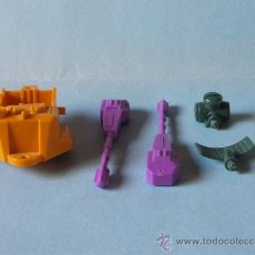 Figuras y Muñecos Transformers: TRANSFORMERS – LOTE DE PIEZAS PARA MICROMASTER ANTI-AIRCRAFT BASE (1989). Lote 35510350