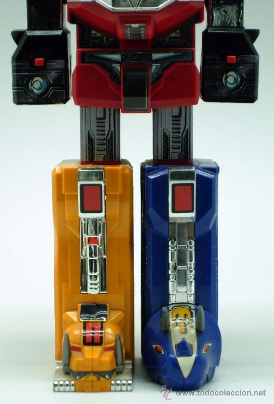 Figuras y Muñecos Transformers: Robot transformers Bandai 22 cm alto 1991 - Foto 3 - 36455725