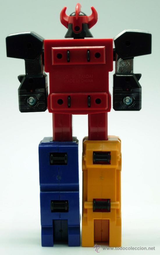 Figuras y Muñecos Transformers: Robot transformers Bandai 22 cm alto 1991 - Foto 5 - 36455725