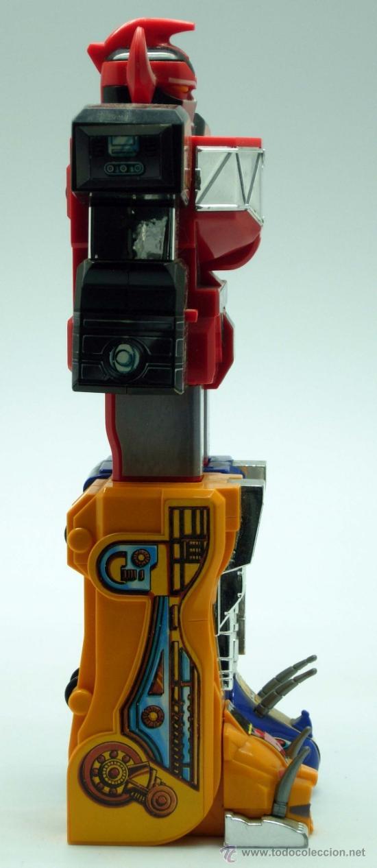 Figuras y Muñecos Transformers: Robot transformers Bandai 22 cm alto 1991 - Foto 7 - 36455725