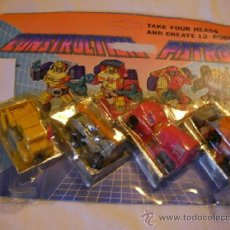 Figuras y Muñecos Transformers: ANTIGUO BLISTER TRANSFORMERS CON CUATRO UNIDADES. Lote 36927096