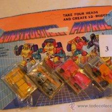 Figuras y Muñecos Transformers: ANTIGUO BLISTER TRANSFORMERS CUATRO UNIDADES. Lote 36927322