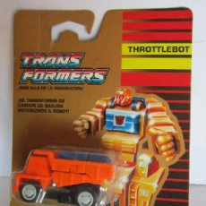 Figuras y Muñecos Transformers: TRANSFORMERS AUTOBOT THROTTLEBOT, WIDELOAD, EN BLISTER. CC. Lote 37374492