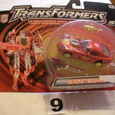 Figuras y Muñecos Transformers: BLISTER DE TRANSFORMERS SIDE BURN. Lote 38034296