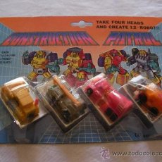 Figuras y Muñecos Transformers: ANTIGUO BLISTER CONSTRUCTION PATROL- TRANSFORMERS. Lote 38304569