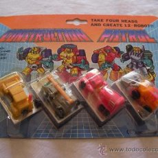 Figuras y Muñecos Transformers: ANTIGUO BLISTER CONSTRUCTION PATROL- TRANSFORMERS. Lote 38304586