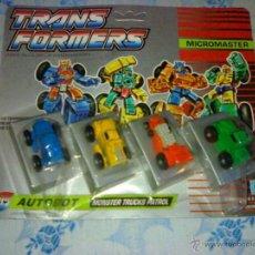 Figure e Bambolotti Transformers: BLISTER TRANSFORMERS MICROMASTER MONSTER TRUCKS PATROL DE HASBRO AÑO 1990 A ESTRENAR. Lote 39334794
