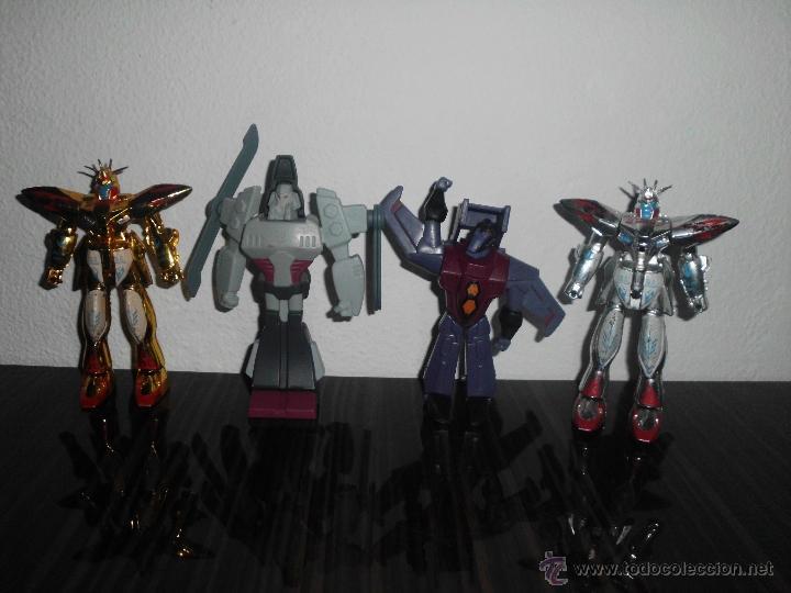 LOTE DE MUÑECO FIGURA TRANSFORMERS GUNDAM ROBOT (Juguetes - Figuras de Acción - Transformers)