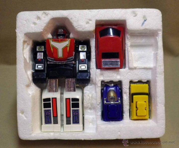 MEGA RARO TRANSFORMERS, TURBORAGER, POWER RANGER, BANDAI 1989 (Juguetes - Figuras de Acción - Transformers)