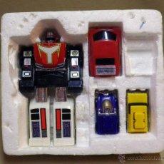 Figuras y Muñecos Transformers: MEGA RARO TRANSFORMERS, TURBORAGER, POWER RANGER, BANDAI 1989. Lote 39920146