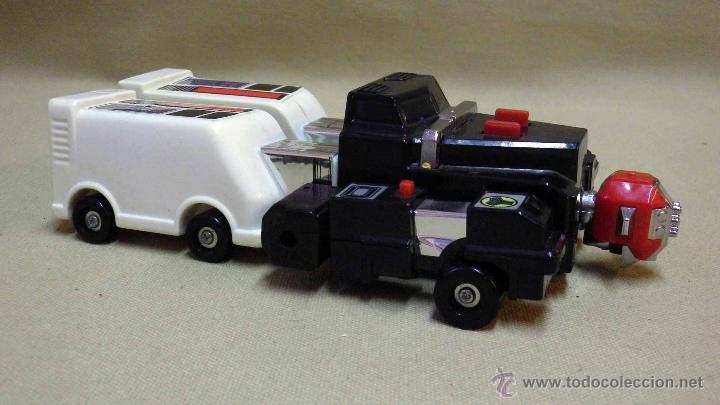 Figuras y Muñecos Transformers: MEGA RARO TRANSFORMERS, TURBORAGER, POWER RANGER, BANDAI 1989 - Foto 2 - 39920146