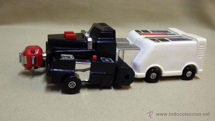 Figuras y Muñecos Transformers: MEGA RARO TRANSFORMERS, TURBORAGER, POWER RANGER, BANDAI 1989 - Foto 3 - 39920146