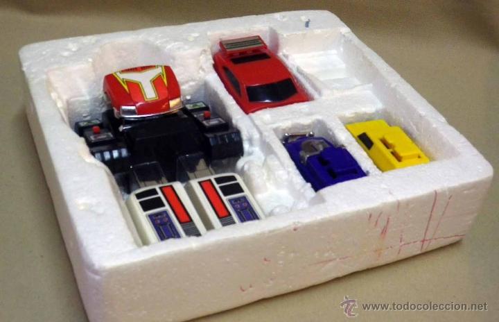 Figuras y Muñecos Transformers: MEGA RARO TRANSFORMERS, TURBORAGER, POWER RANGER, BANDAI 1989 - Foto 4 - 39920146
