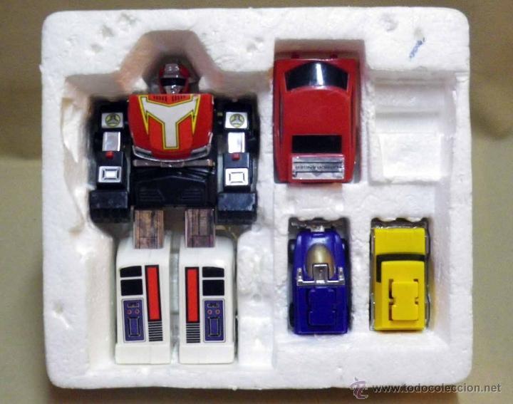 Figuras y Muñecos Transformers: MEGA RARO TRANSFORMERS, TURBORAGER, POWER RANGER, BANDAI 1989 - Foto 5 - 39920146