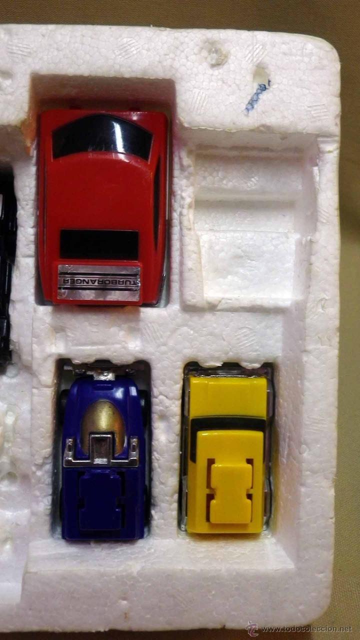 Figuras y Muñecos Transformers: MEGA RARO TRANSFORMERS, TURBORAGER, POWER RANGER, BANDAI 1989 - Foto 7 - 39920146